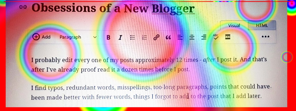 Obsessions of a NewBlogger