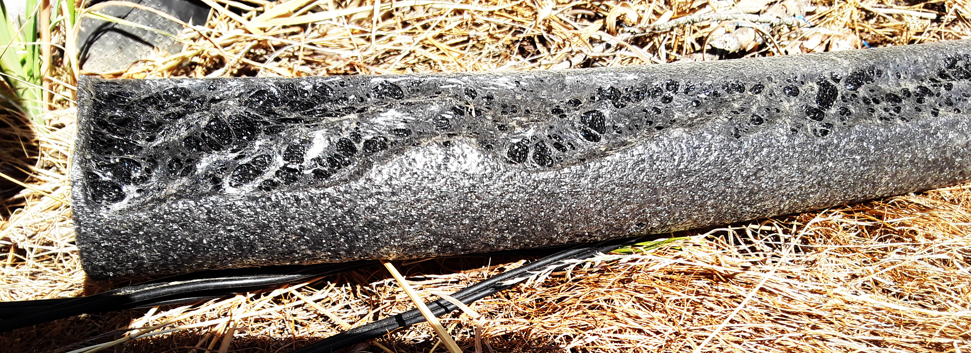 melting foam tube