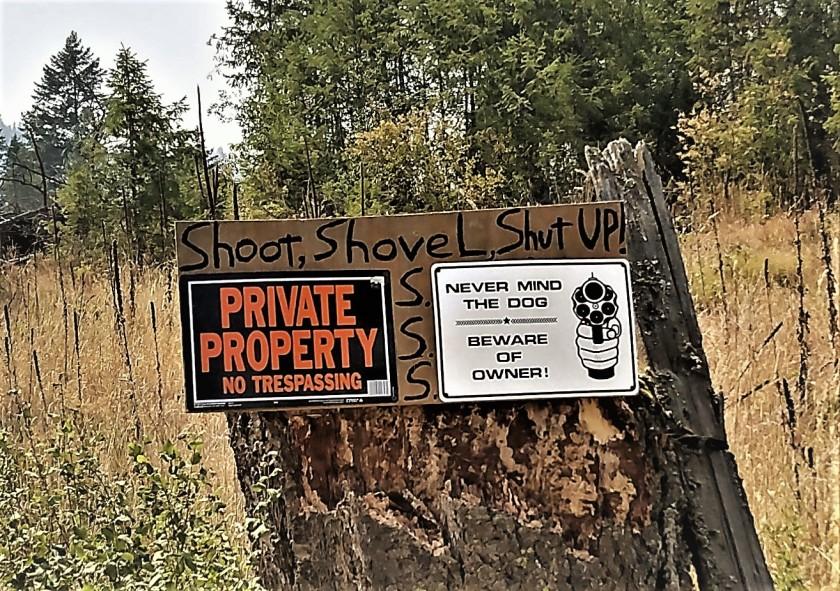 shoot shovel shutup